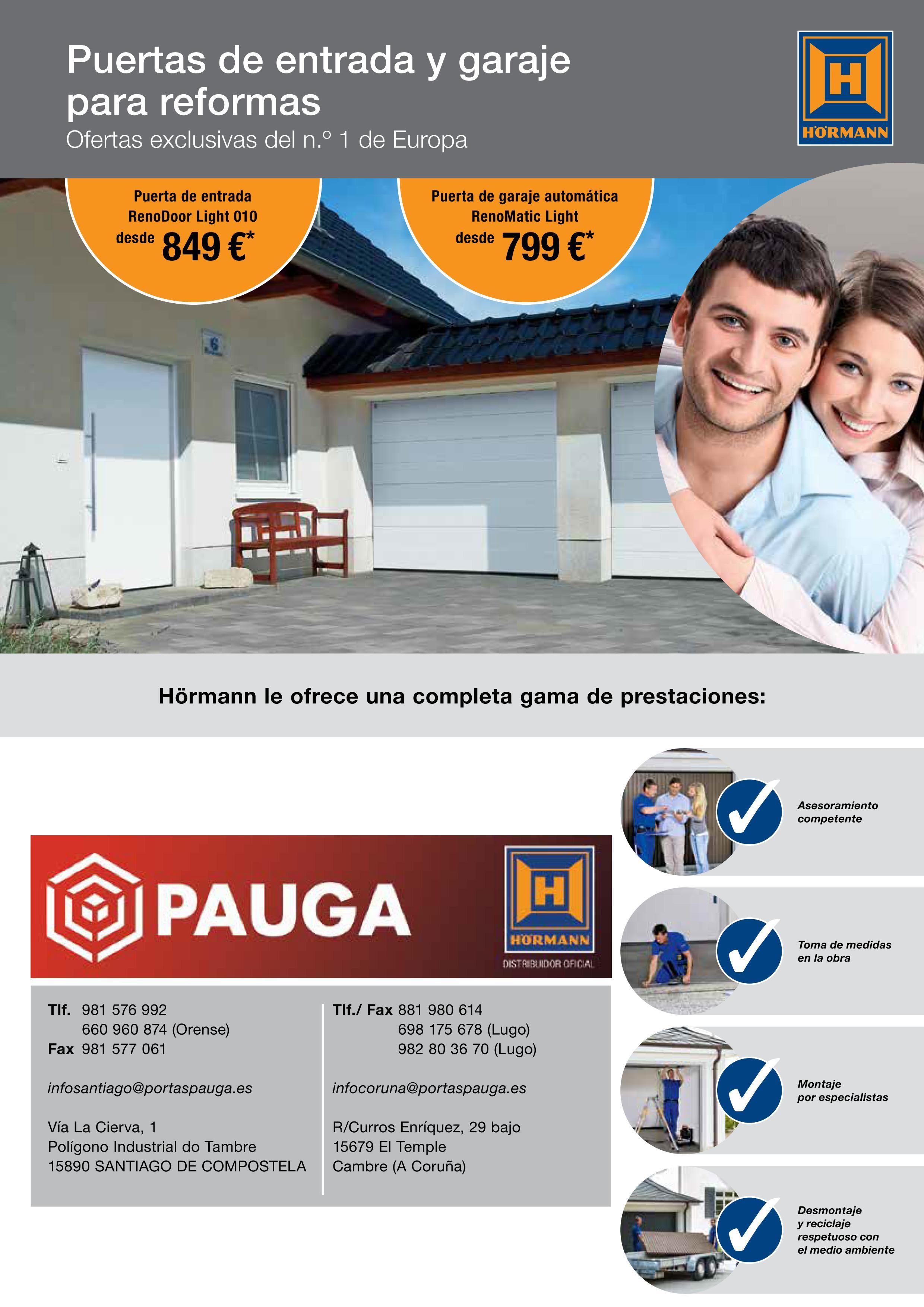 promoción Hörmann España 2016