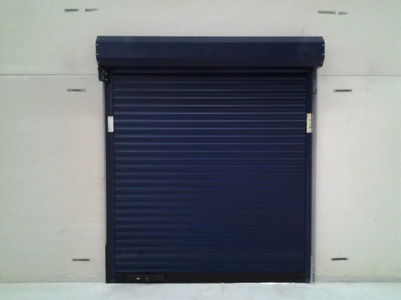 Puerta Enrollable con doble cámara