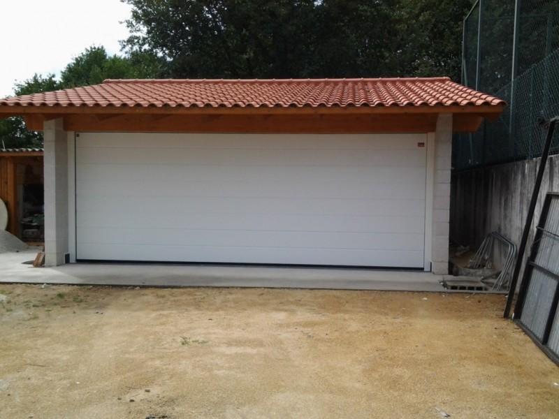 Puerta seccional doméstica de 6 metros